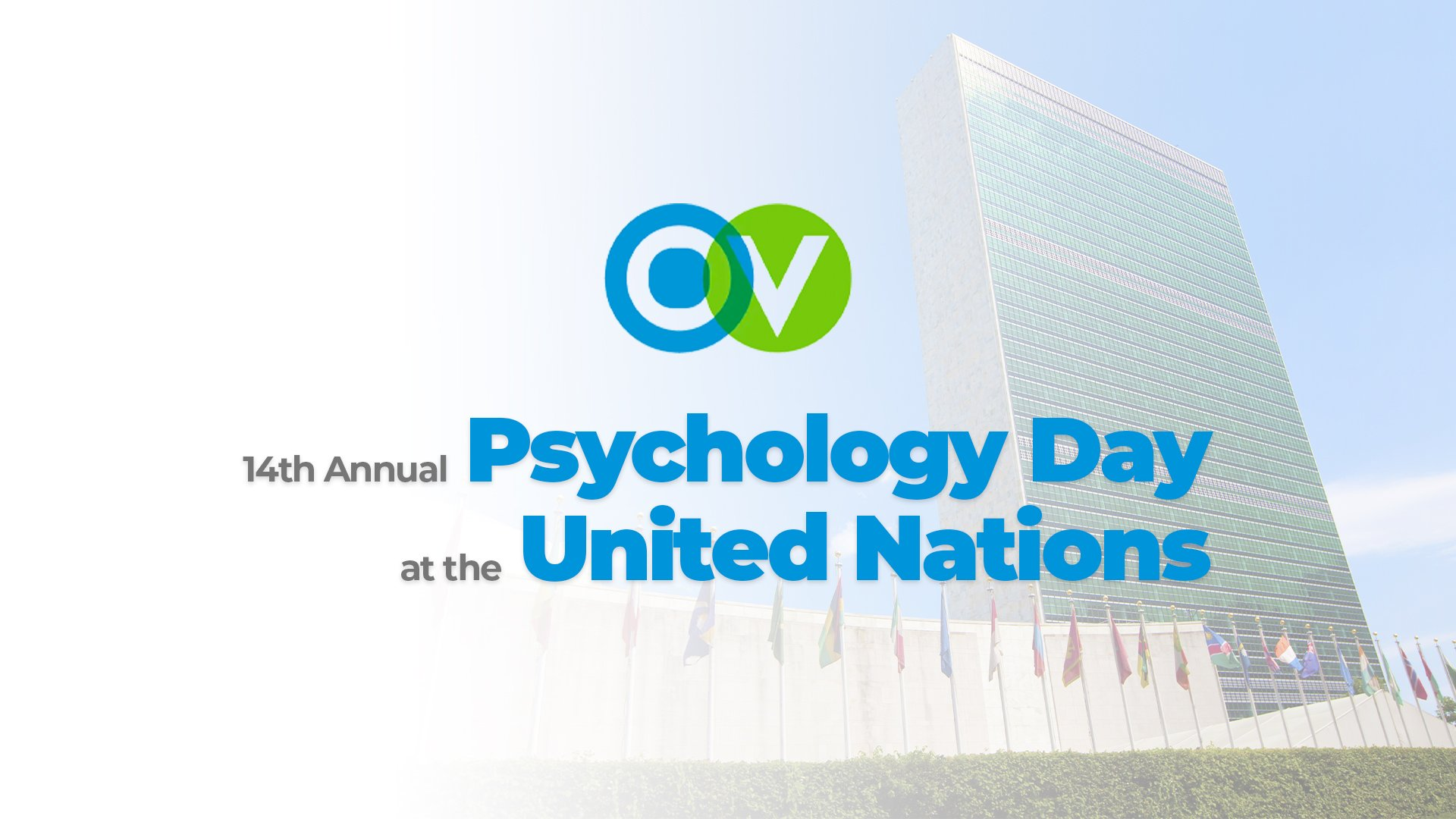 OrgVitality Pleased to Co-Sponsor 14th Annual Psychology Day at the United Nations